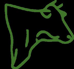 Einstreu und Futter für Rinder